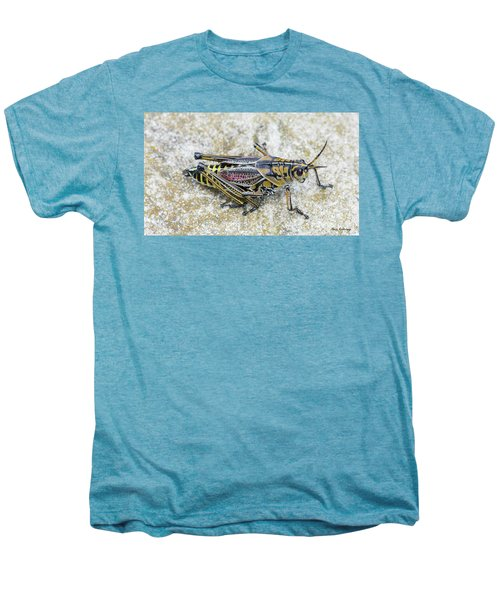 The Hopper Grasshopper Art Men's Premium T-Shirt