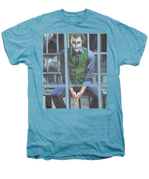 The Joker Men's Premium T-Shirt by Colm Hutchinson