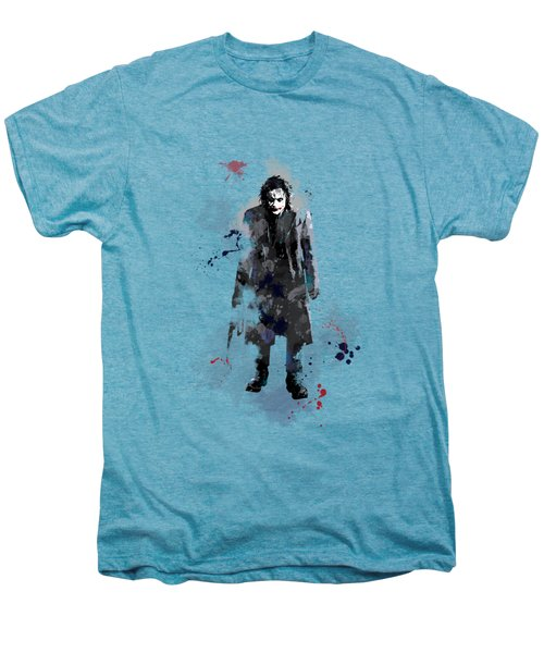 The Joker Men's Premium T-Shirt by Marlene Watson