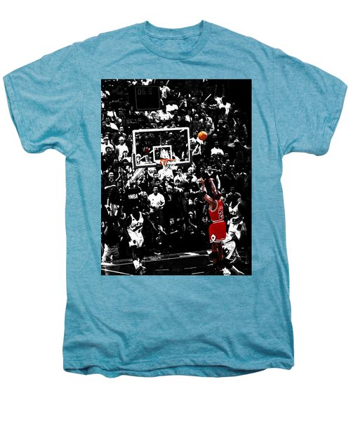 The Last Shot 23 Men's Premium T-Shirt by Brian Reaves