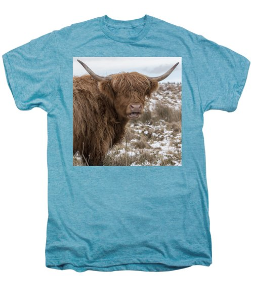The Laughing Cow, Scottish Version Men's Premium T-Shirt by Jeremy Lavender Photography