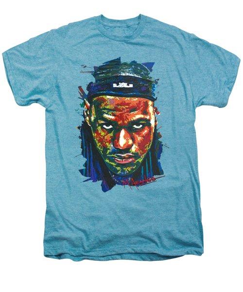 The Lebron Death Stare Men's Premium T-Shirt