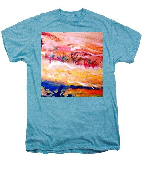 The Living Dunes Men's Premium T-Shirt by Winsome Gunning