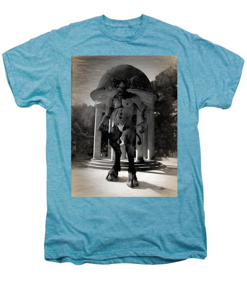 The Monster Maze Men's Premium T-Shirt by Joaquin Abella