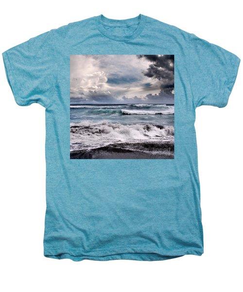The Music Of Light Men's Premium T-Shirt by Sharon Mau
