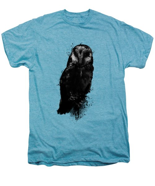 The Owl Men's Premium T-Shirt by Nicklas Gustafsson