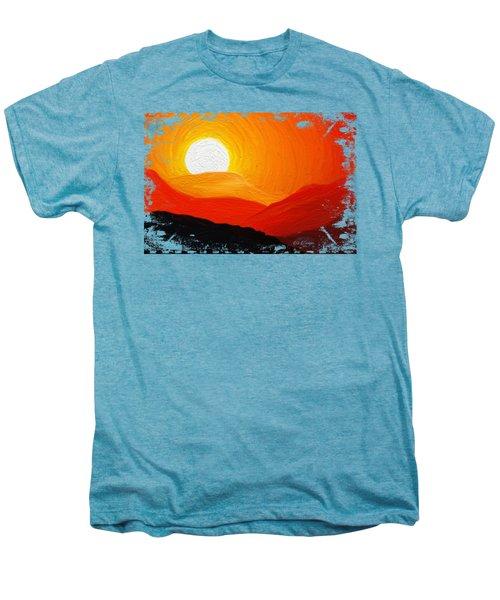 The Painted Desert Signature Series Men's Premium T-Shirt by Di Designs