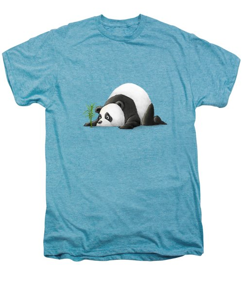 The Patient Panda Men's Premium T-Shirt