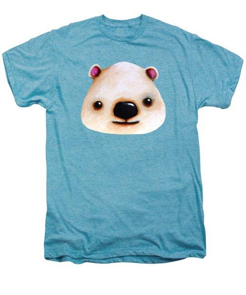 The Polar Bear Men's Premium T-Shirt by Lucia Stewart