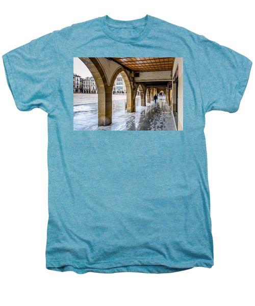 The Rain In Spain Men's Premium T-Shirt by Randy Scherkenbach