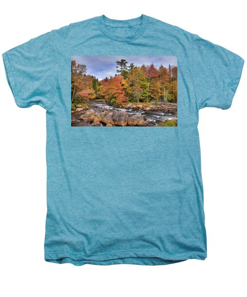 Men's Premium T-Shirt featuring the photograph The Rapids On The Moose River by David Patterson