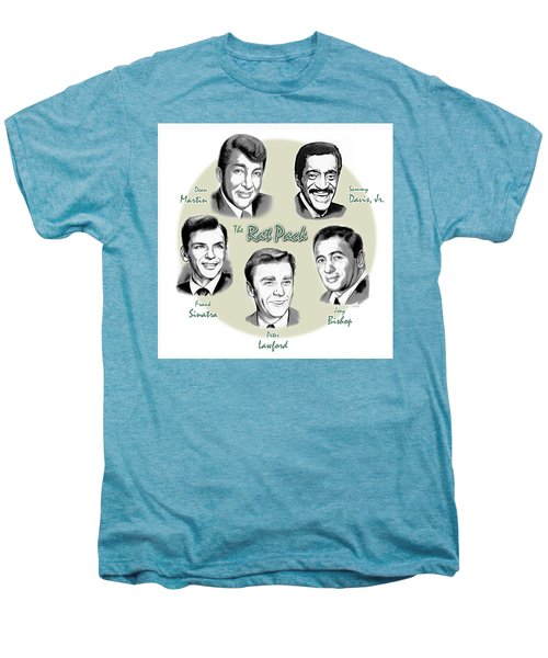 The Rat Pack Men's Premium T-Shirt by Greg Joens