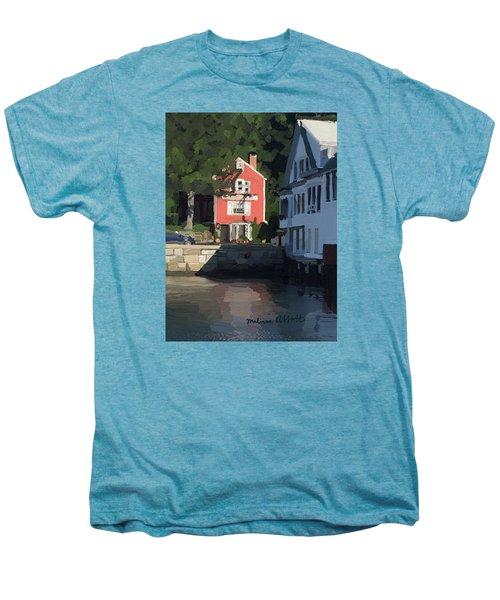 The Sacred Cod And Beacon Marine Men's Premium T-Shirt
