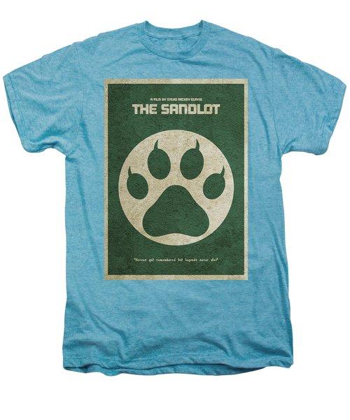 The Sandlot Alternative Minimalist Movie Poster Men's Premium T-Shirt by Ayse Deniz