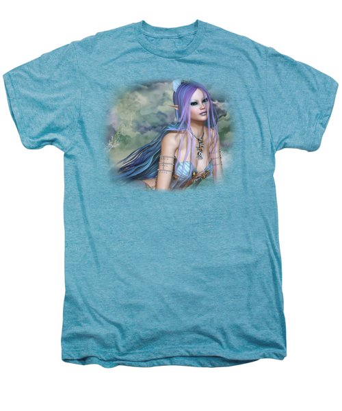 The Sea Nymph Men's Premium T-Shirt by Brandy Thomas