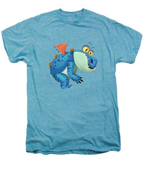 The Sloth Dragon Monster Men's Premium T-Shirt by Next Mars