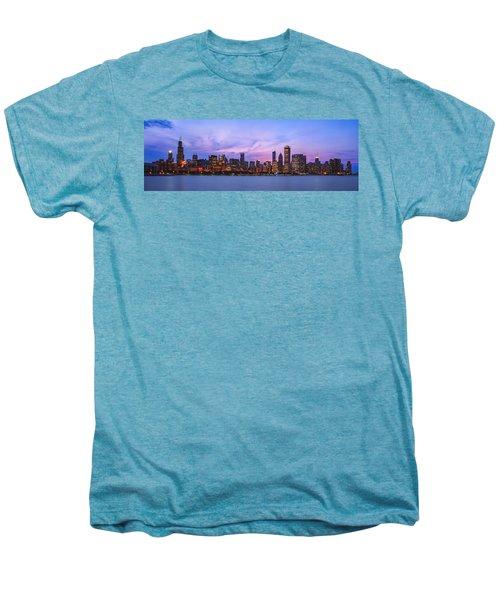 The Windy City Men's Premium T-Shirt by Scott Norris