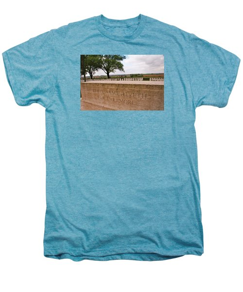 Men's Premium T-Shirt featuring the photograph Their Name Liveth For Evermore by Travel Pics