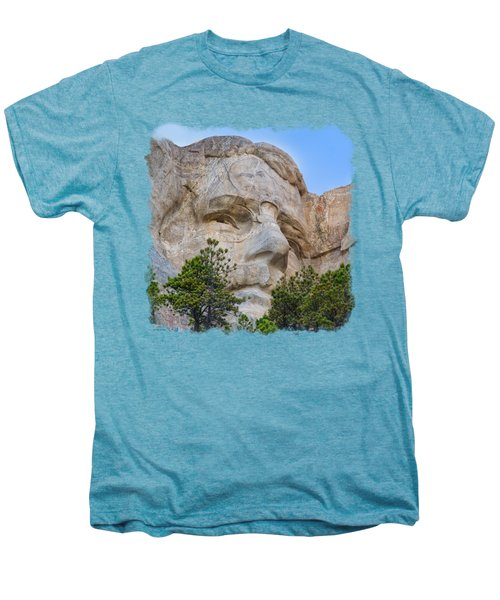 Theodore Roosevelt 3 Men's Premium T-Shirt by John M Bailey