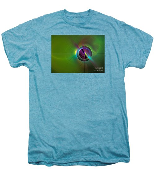 Theory Of Green - Abstract Art Men's Premium T-Shirt