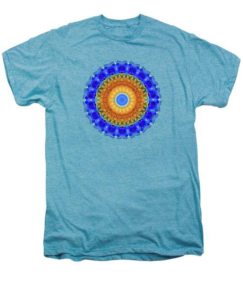 Third Eye Mandala Art By Sharon Cummings Men's Premium T-Shirt