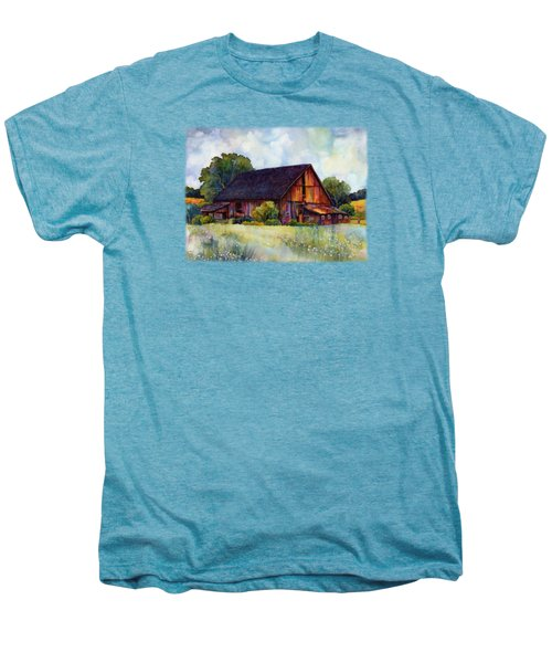 This Old Barn Men's Premium T-Shirt by Hailey E Herrera