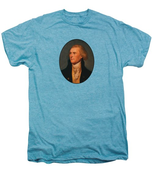Thomas Jefferson Men's Premium T-Shirt by War Is Hell Store