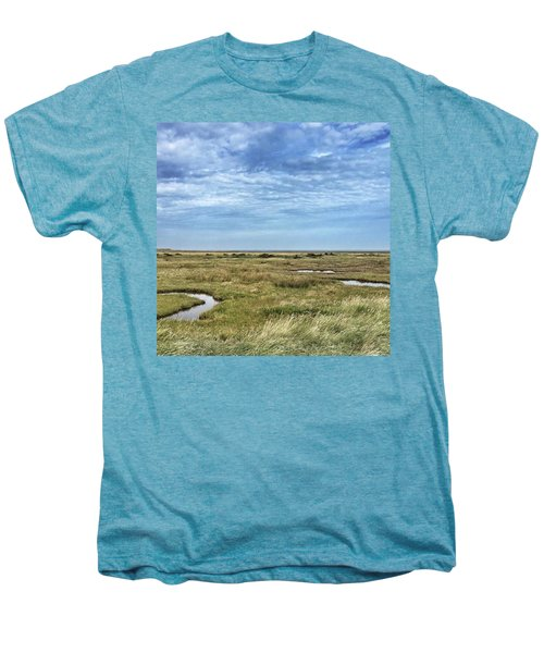 Thornham Marshes, Norfolk Men's Premium T-Shirt