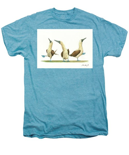 Three Blue Footed Boobies Men's Premium T-Shirt