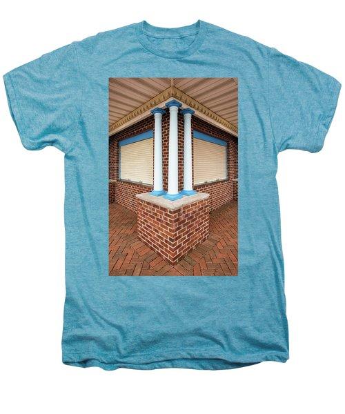 Three Pillars At The Refreshment Stand Men's Premium T-Shirt