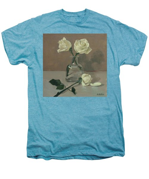 Three Roses In A Tequila Bottle Men's Premium T-Shirt