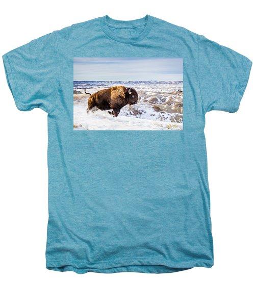 Thunder In The Snow Men's Premium T-Shirt by Rikk Flohr
