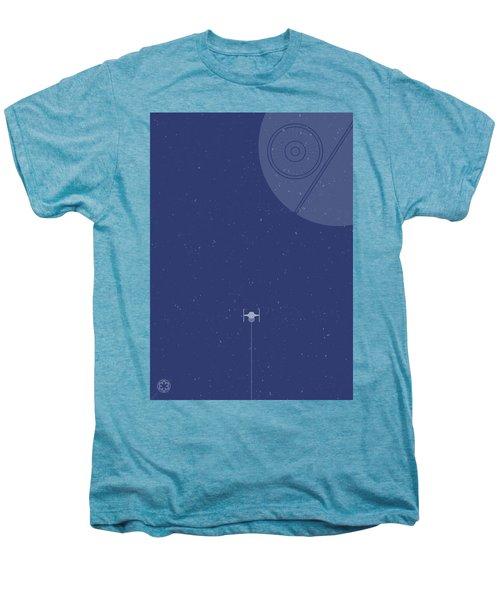 Tie Fighter Defends The Death Star Men's Premium T-Shirt