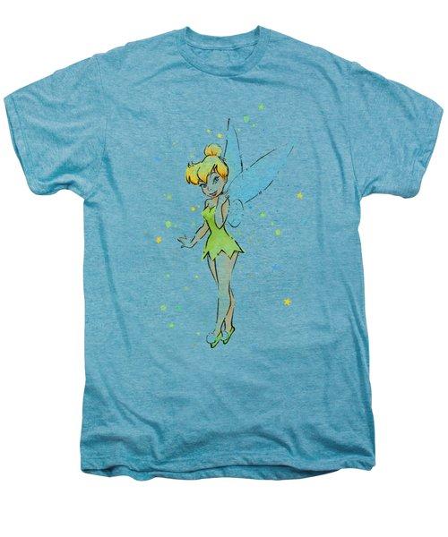 Tinker Bell Men's Premium T-Shirt by Olga Shvartsur