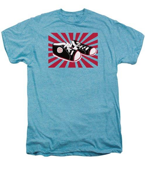 Tiny Feet Men's Premium T-Shirt by Priscilla Wolfe
