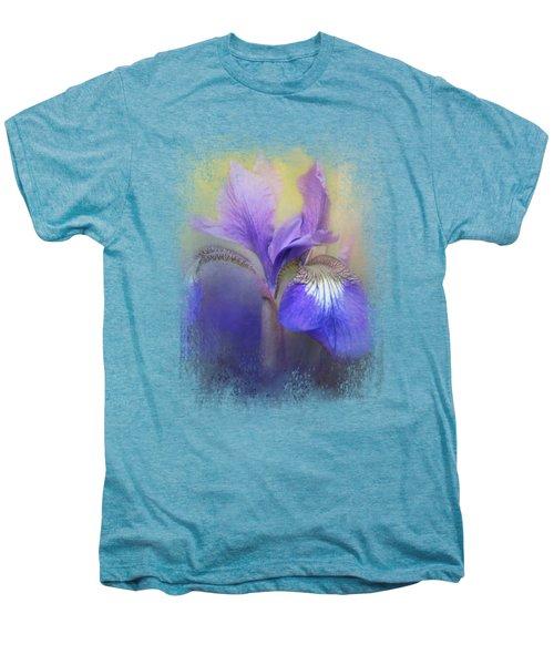 Tiny Iris Men's Premium T-Shirt by Jai Johnson