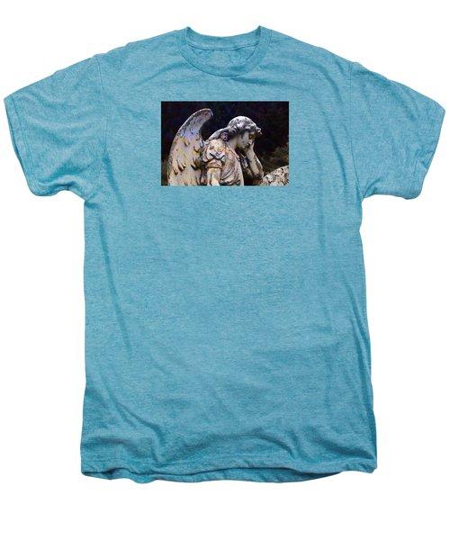 Tired Angel Men's Premium T-Shirt by Nareeta Martin