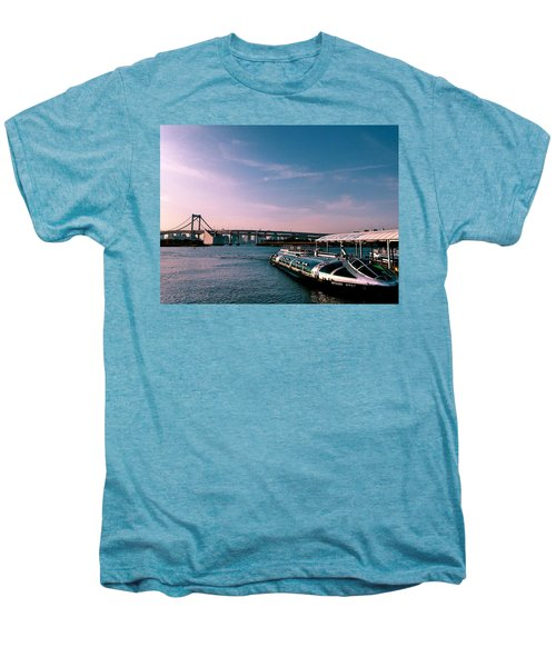 To The Space From Sea Men's Premium T-Shirt by Momoko Sano