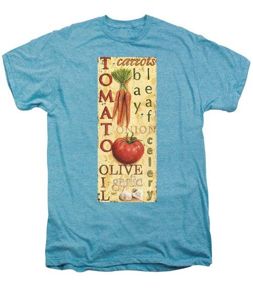 Tomato Soup Men's Premium T-Shirt by Debbie DeWitt