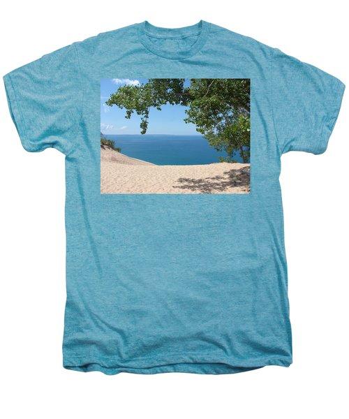 Top Of The Dune At Sleeping Bear Men's Premium T-Shirt