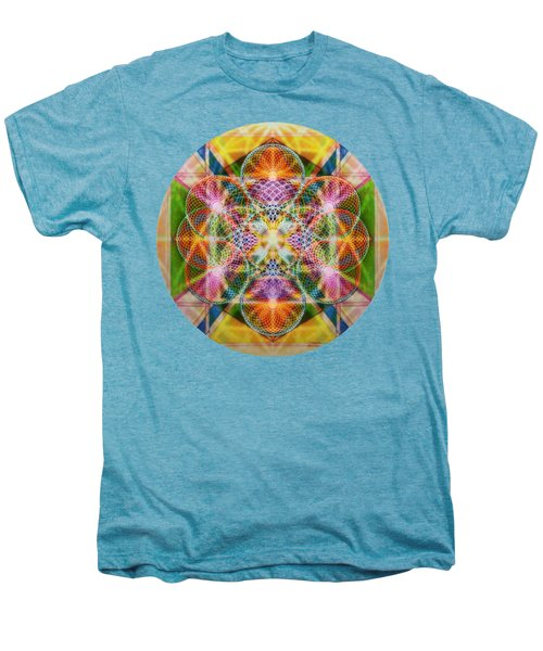 Torusphere Synthesis Bright Beginning Soulin I Men's Premium T-Shirt by Christopher Pringer