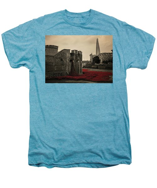 Tower Of London Men's Premium T-Shirt by Martin Newman