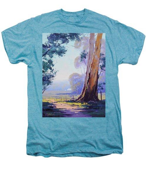 Track To The Farm Men's Premium T-Shirt