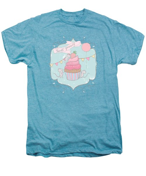 Treat Yourself Cupcake Party Men's Premium T-Shirt