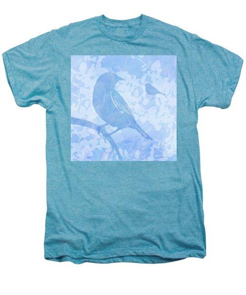 Tree Birds I Men's Premium T-Shirt