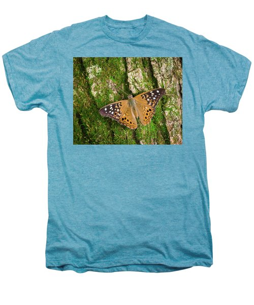 Men's Premium T-Shirt featuring the photograph Tree Hugger by Bill Pevlor