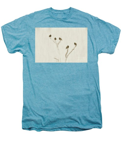 Treetop Starlings Men's Premium T-Shirt by Benanne Stiens