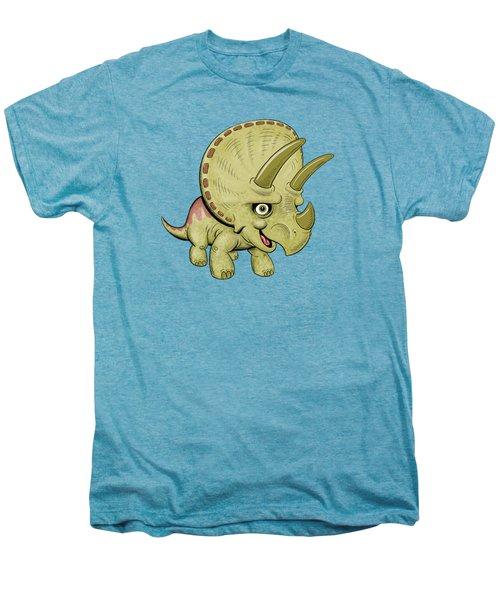 Triceratops Men's Premium T-Shirt