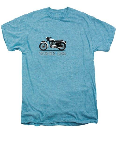 Triumph Tiger 110 1959 Men's Premium T-Shirt by Mark Rogan