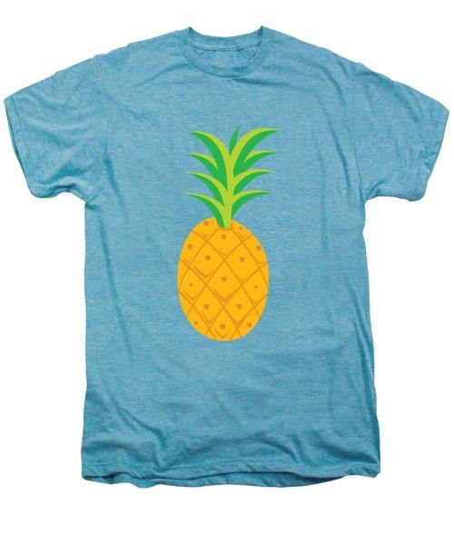 Tropical Fruits Ananas Pineapple Men's Premium T-Shirt by MGdezigns